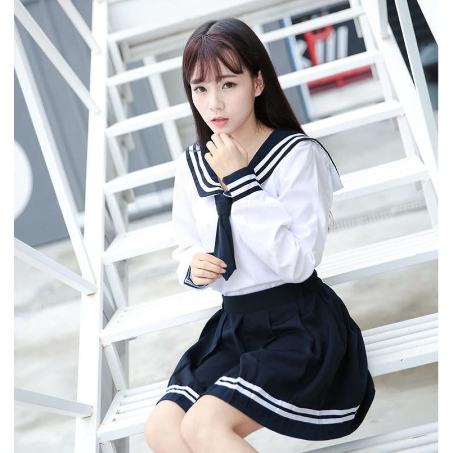 High-End Jk Uniform For Girls Japanese Korea School Student Sailor Mp006054