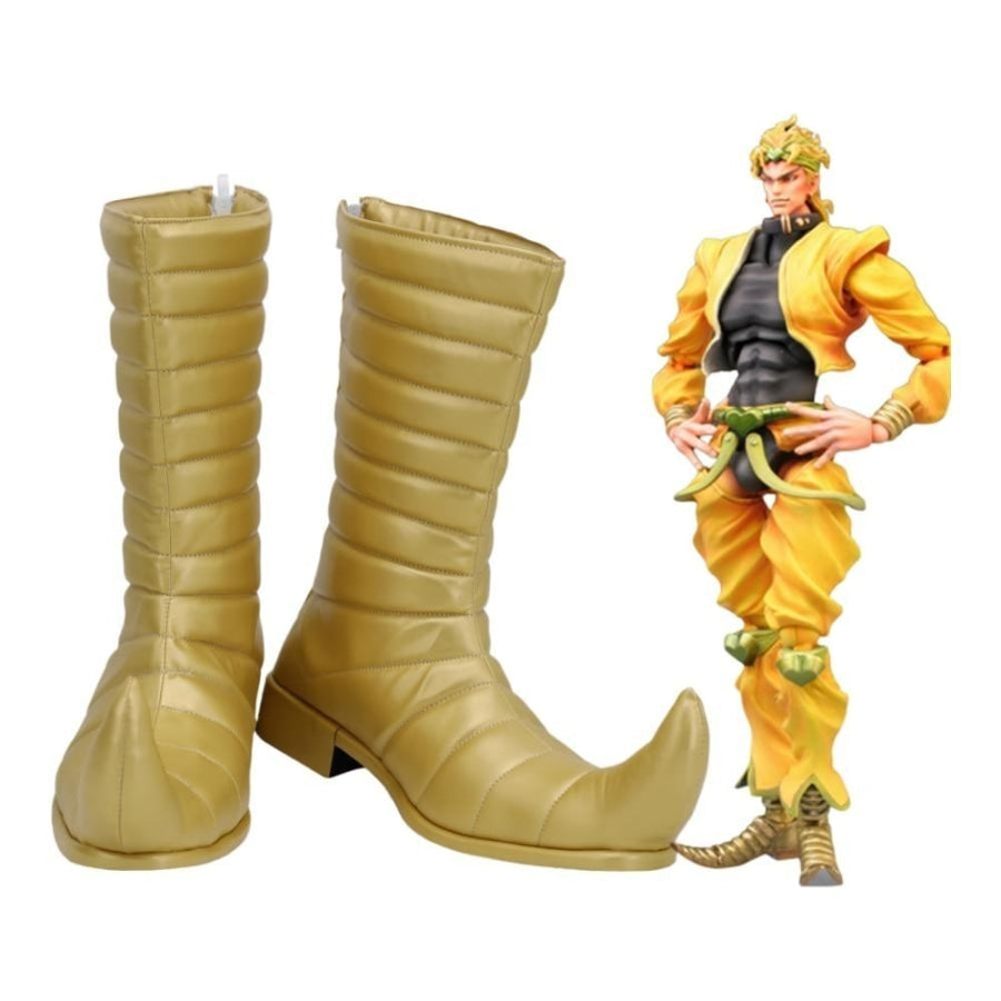Jojos Bizarre Adventure Dio Brando Cosplay Boots Mp005896 Men Size / 47 Shoes &