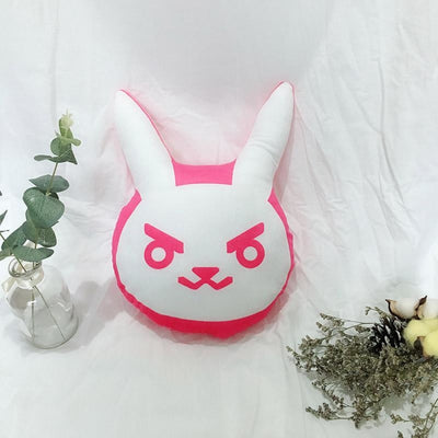 Over Watch D.va Rabbit Plush Pillow / Toys Cushions Soft Halloween Xmas Gifts 35Cm Props &
