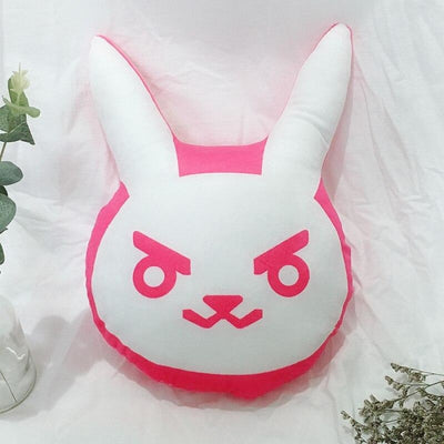 Over Watch D.va Rabbit Plush Pillow / Toys Cushions Soft Halloween Xmas Gifts 50Cm Props &