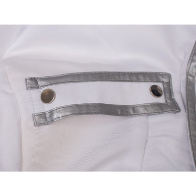 Rwby Vol. 1 James Ironwood Cosplay Costumes General White Suit Mp003306
