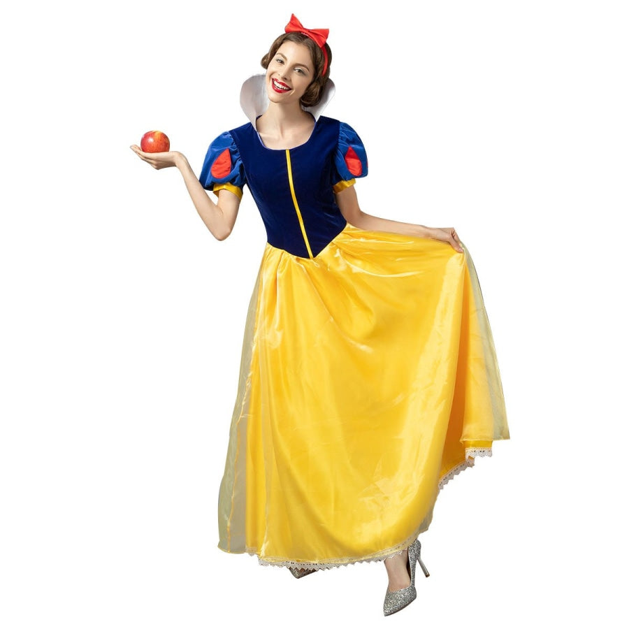 Snow White Cosplay Costumes Princess Ball Gown Dress Mp004784