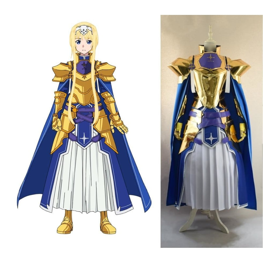 Sword Art Online Alicization Season 3 Sao Alice Synthesis 30 Cosplay Costume M Costumes