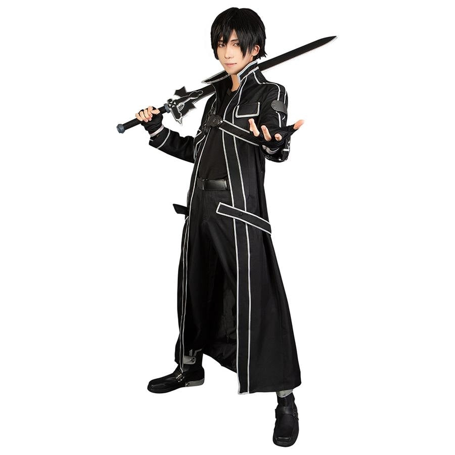 Sword Art Online Kirigaya Kazuto Cosplay Costume Mp003071 S / Us Warehouse (Us Clients Available)