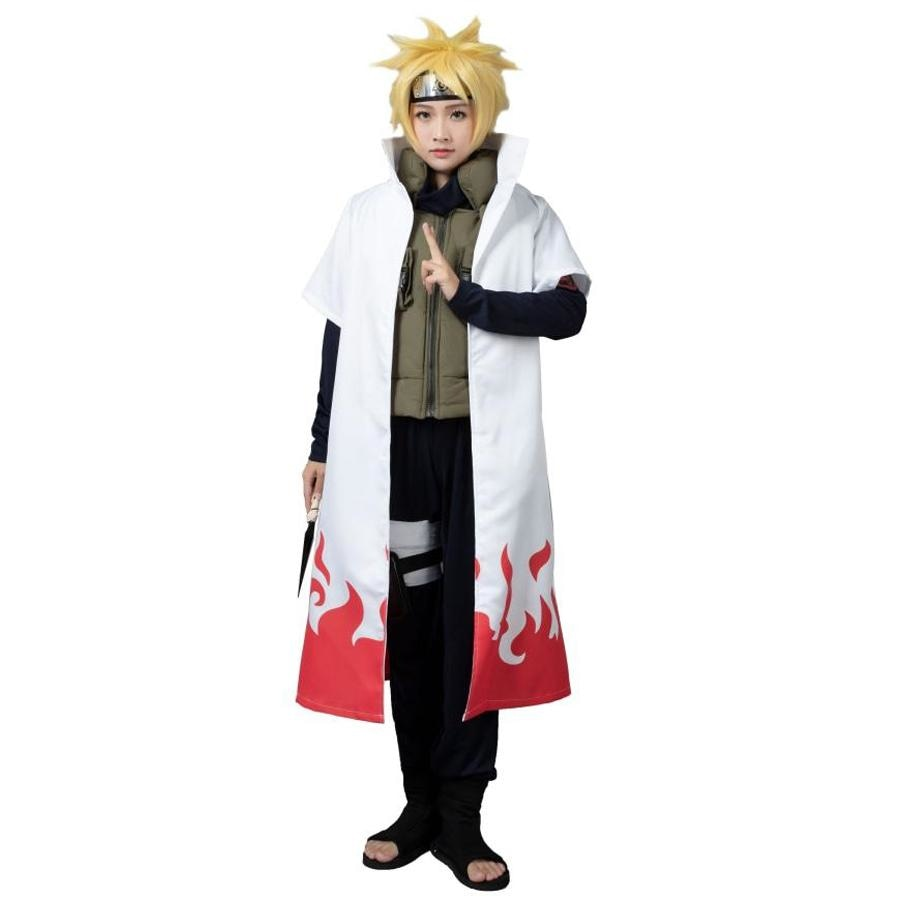 The Fourth Hokage Namikaze Minato Cosplay Costumes Cape Mp002567 Xs / Us Warehouse (Us Clients