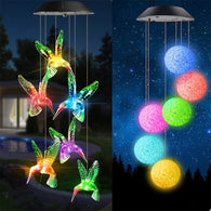 WindLights - Solar-Powered Wind Chime Lights