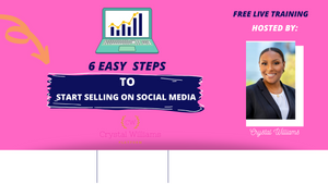 6 Steps to Start Selling Online Web Course
