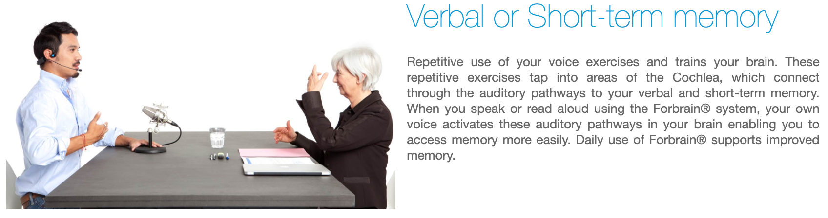 Forbrain - Verbal and Short Term Memory