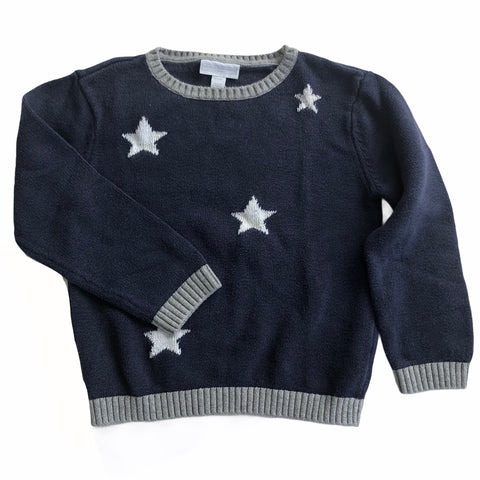 Boys Size 4 The Little White Company knit