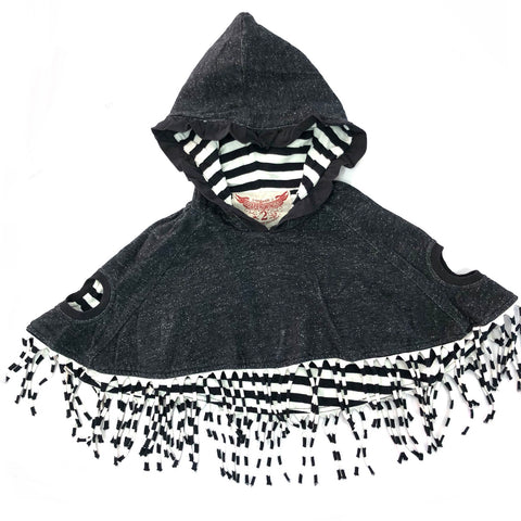 Girls Size 3 Paper Wings poncho
