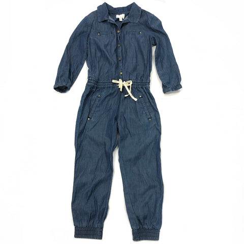 Girls Size 4 Witchery chambray jumpsuit
