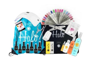 Halo Gel Polish Student Kit with LED Lamp