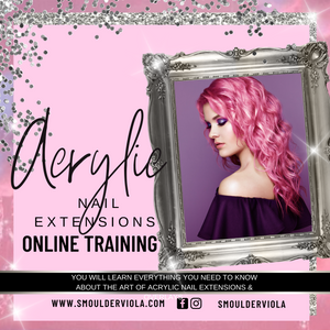 Online Acrylic Nail Extensions Course