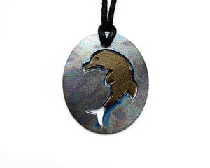Teen Personal Pendant - Dolphin Multi