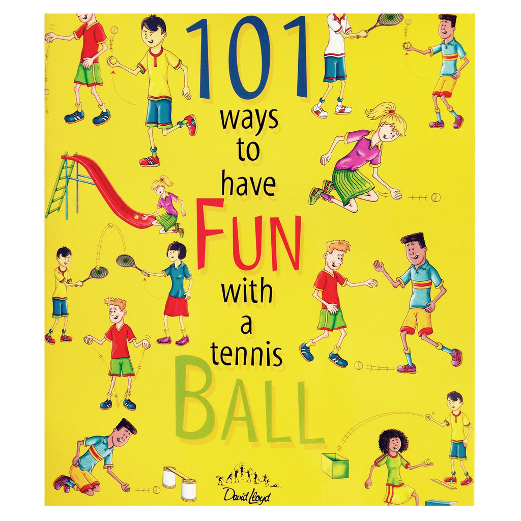 101 ways to have Fun with a Tennis Ball | Christopher Dunkley