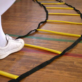 Agility Footwork Ladder | Curved Flat Rung | 4.7m