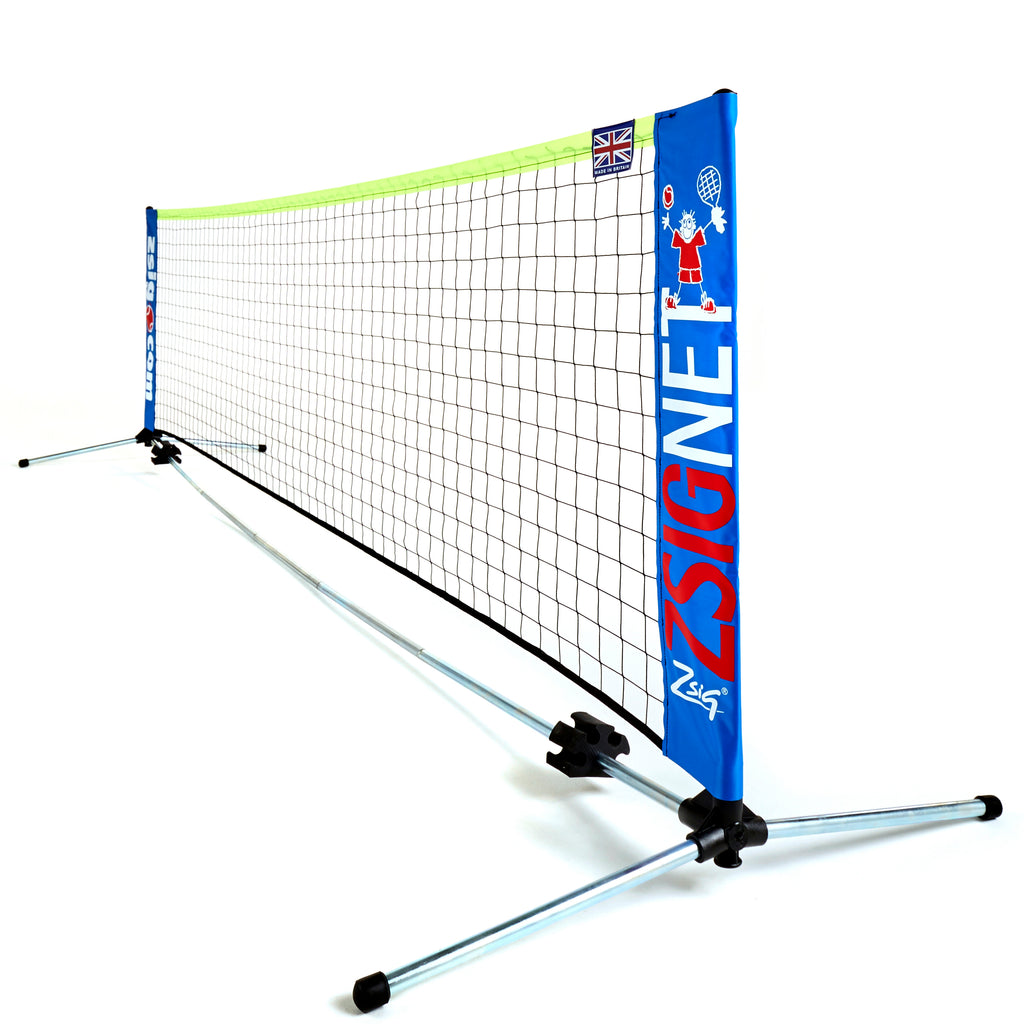 Zsig 3m Mini Tennis Net - great for gardens, or taking to the park or beach!