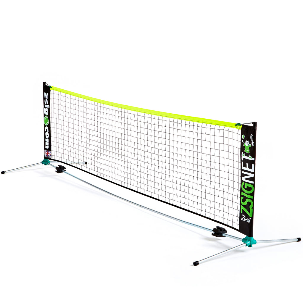 Mini Tennis Net from Zsig - 3m Classic Coaches' portable net