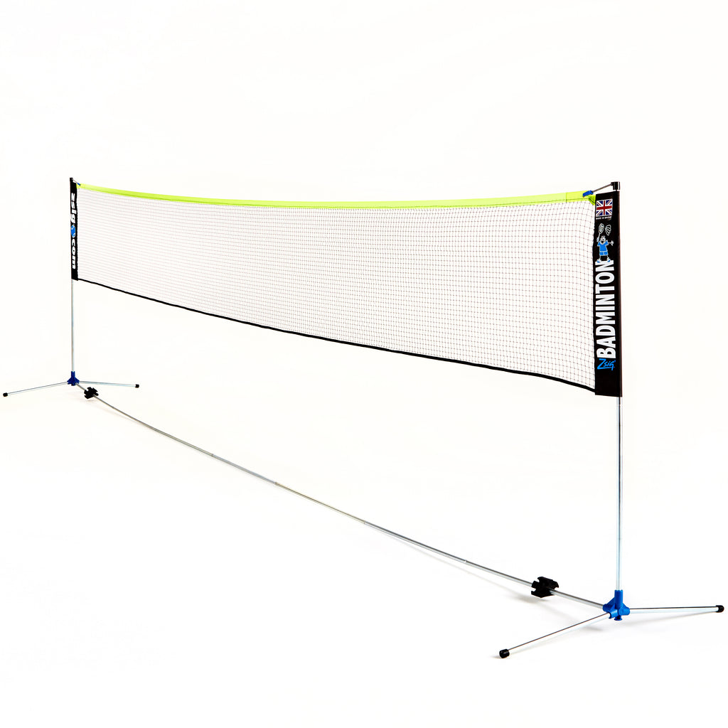 ZSig's Classic 6m Badminton Net System - strong and built to last