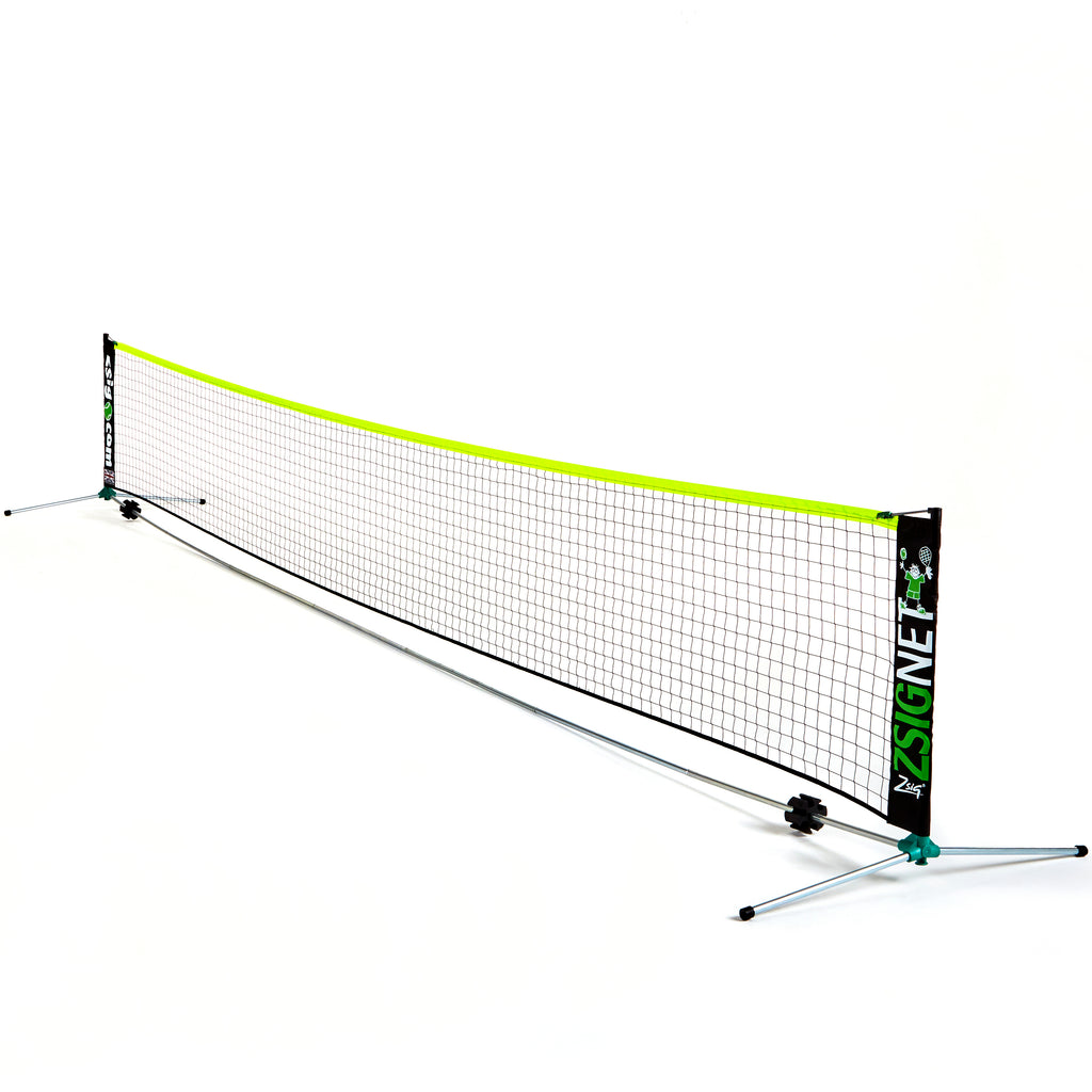 Zsig's Classic 6m Mini Tennis Net - for Coaches, Schools and Clubs