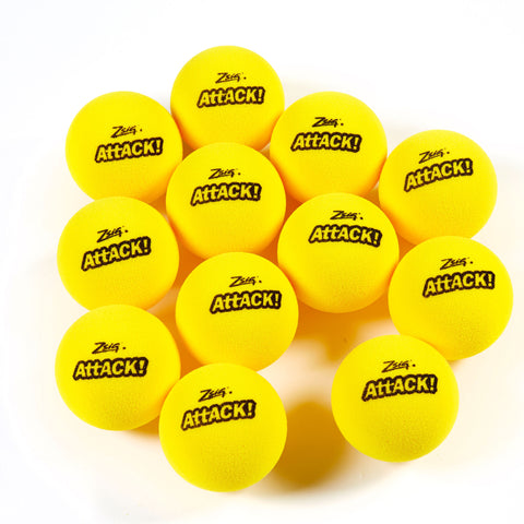 Mini Tennis | Attack! Touch Tennis Balls | Dozen (12)