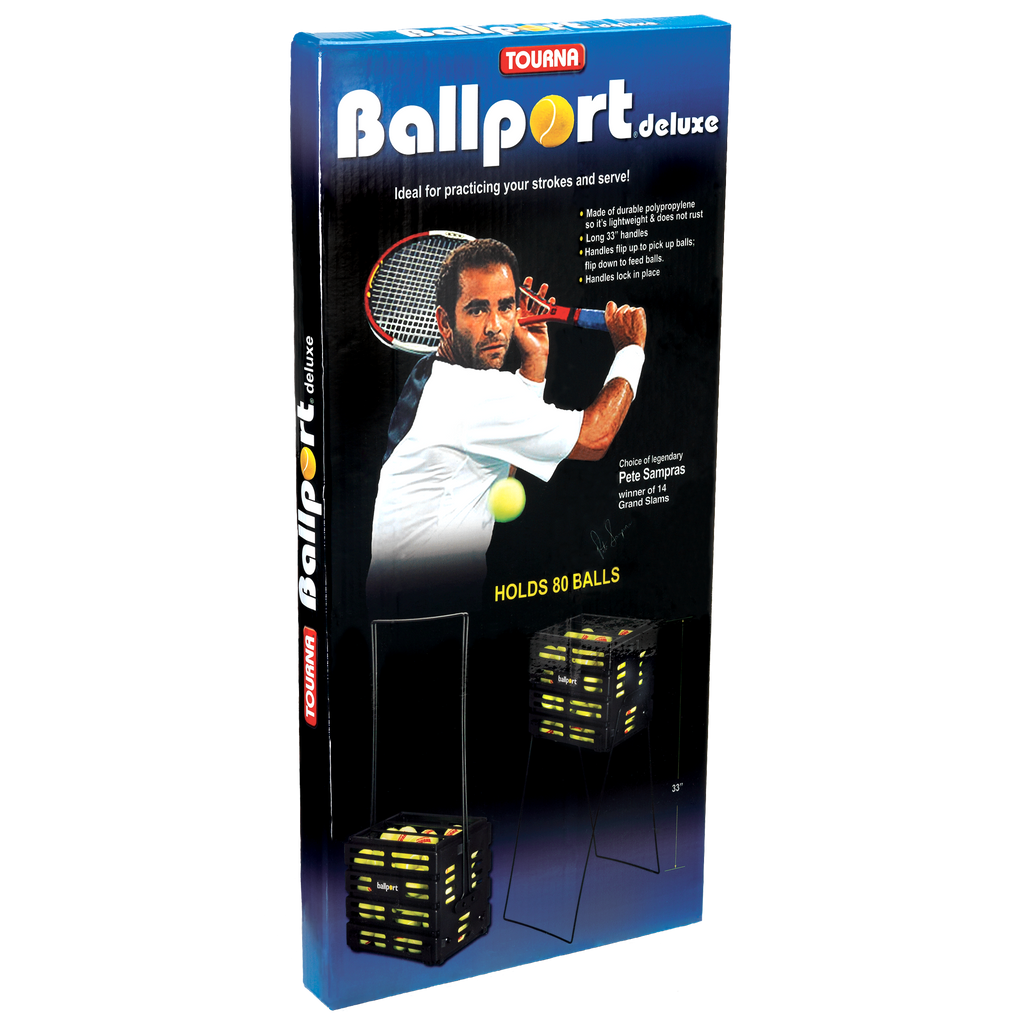 Deluxe Ballport Ball Hopper | holds 80 balls