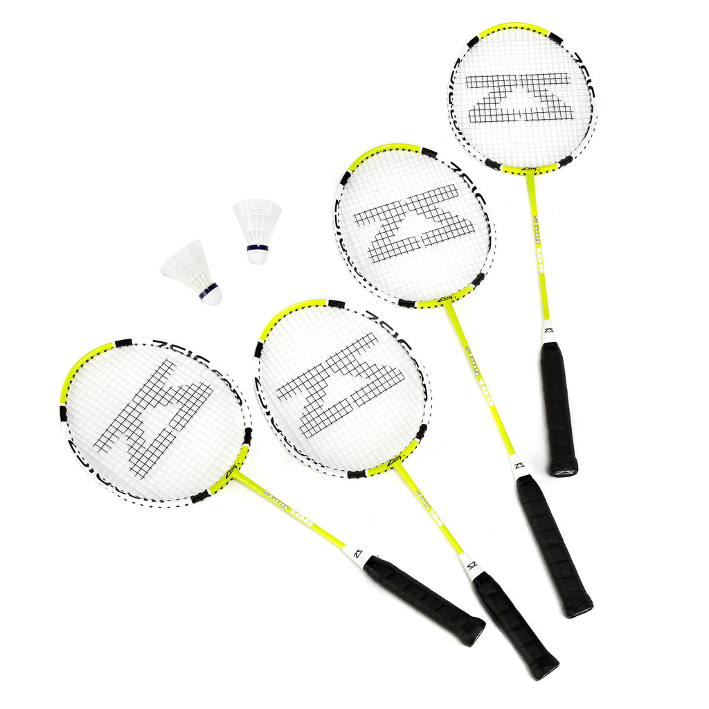Zsig family racket set with shuttles