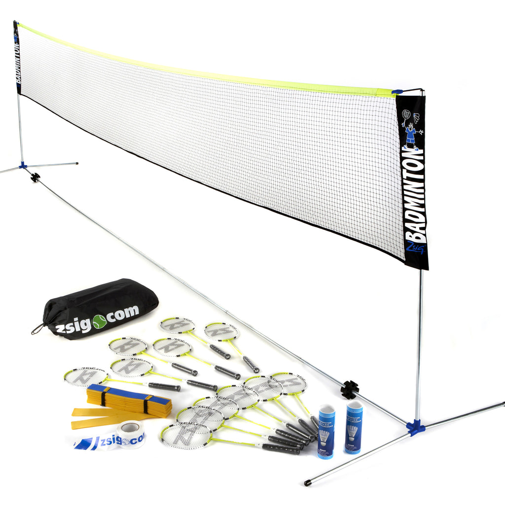 Badminton | Coaching Set 2 | with 6m Net