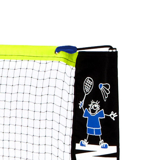 Classic Zsignet 3m Badminton Net with clip and bungee tensioning system