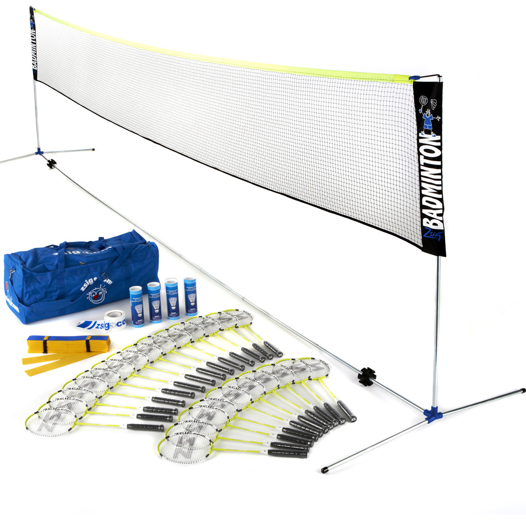 Badminton | Coaching Set 3 | with 6m Net