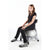 Fitness Balance Ball Chair in silver