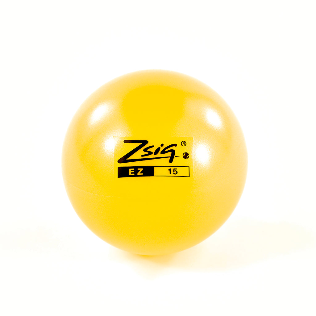 EZ15 | 15cm Early Years Ball | Yellow | 10 + Free Pump