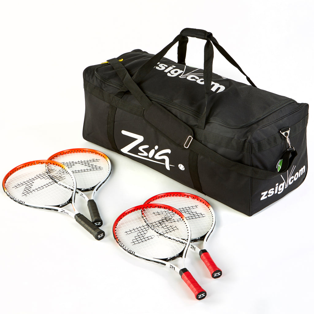 Mini Tennis Class Pack of 24 rackets. 12x21 inch, 21x23 inch