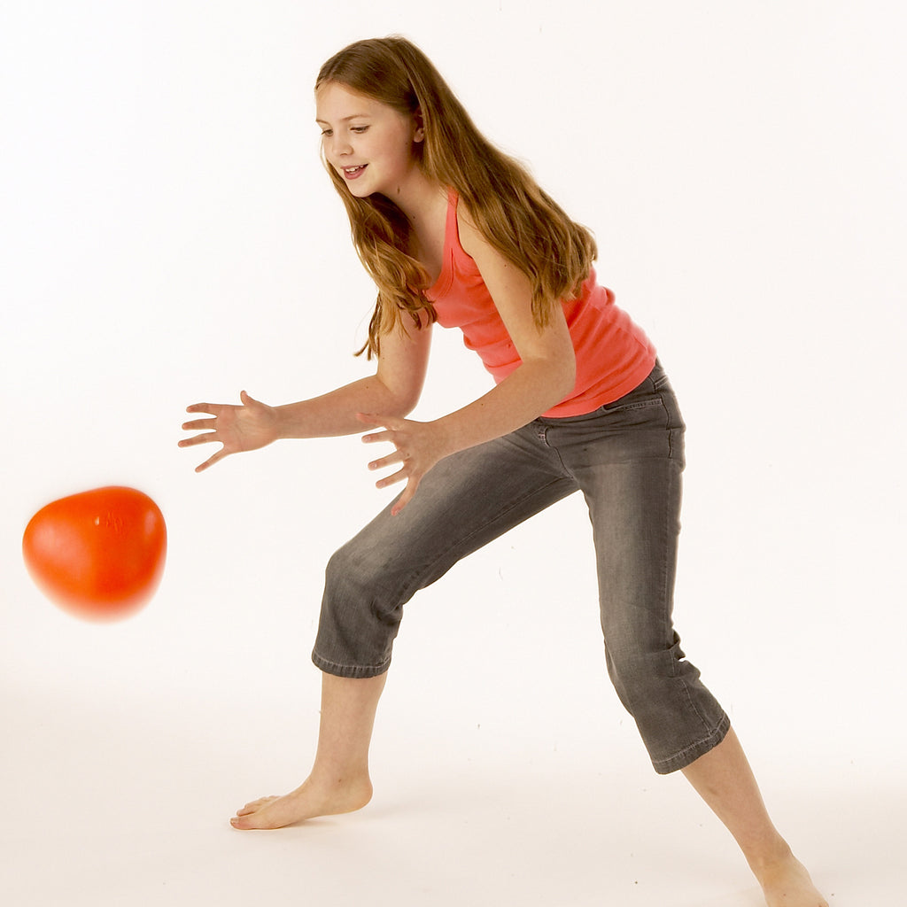 Reaction Ball for kids. Unpredictable bounces, but non-sting.