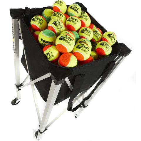 Pro Coach Mini Compact Cart | holds 144 balls