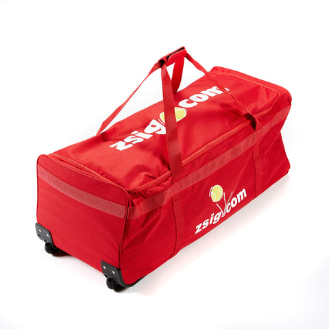 Coaching Equipment Holdall with Wheels | Red