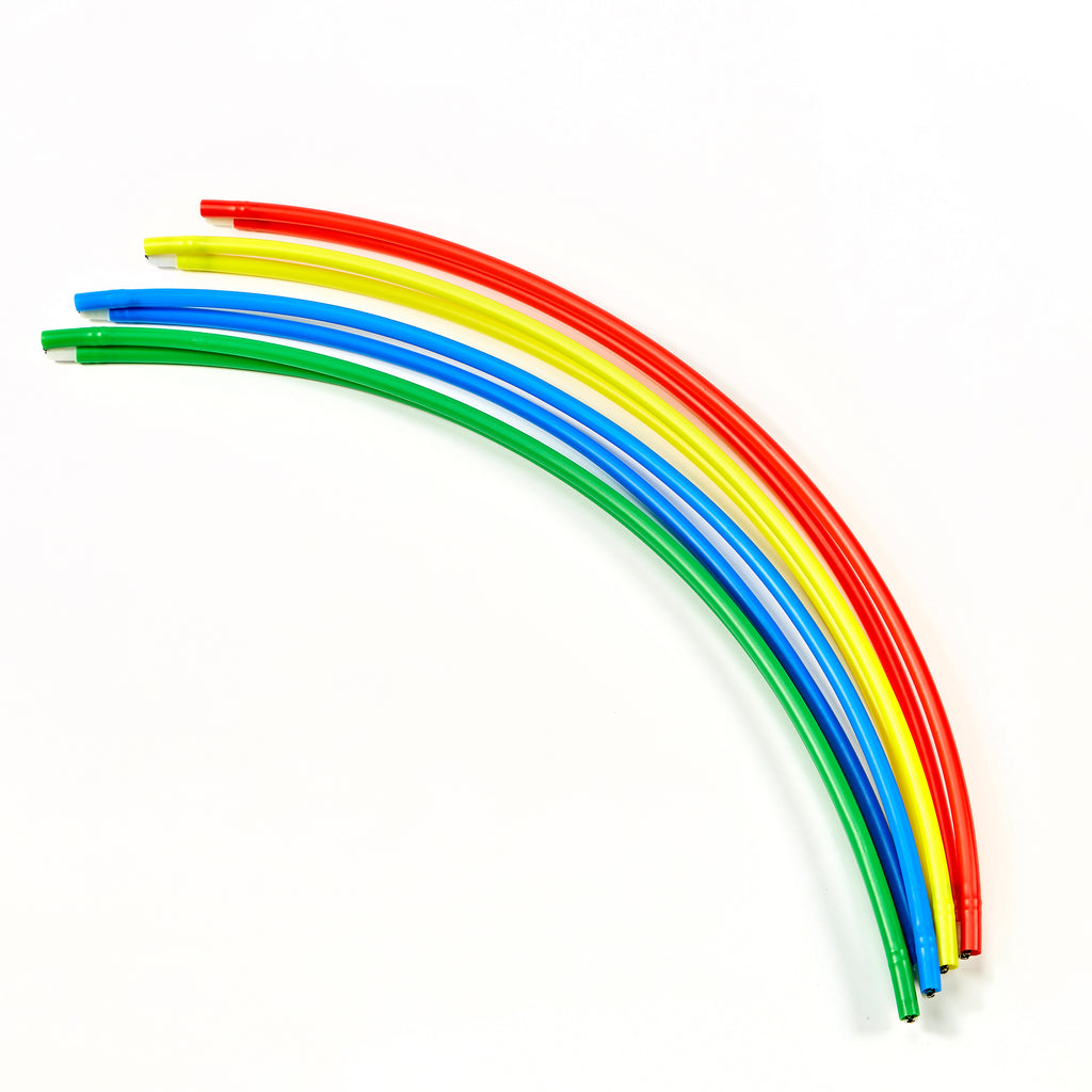 ZSIG Folding Hula Hoops bundled without velcro straps