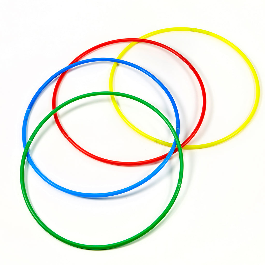 FZSIG Folding Hula Hoops Set of 4 assembled
