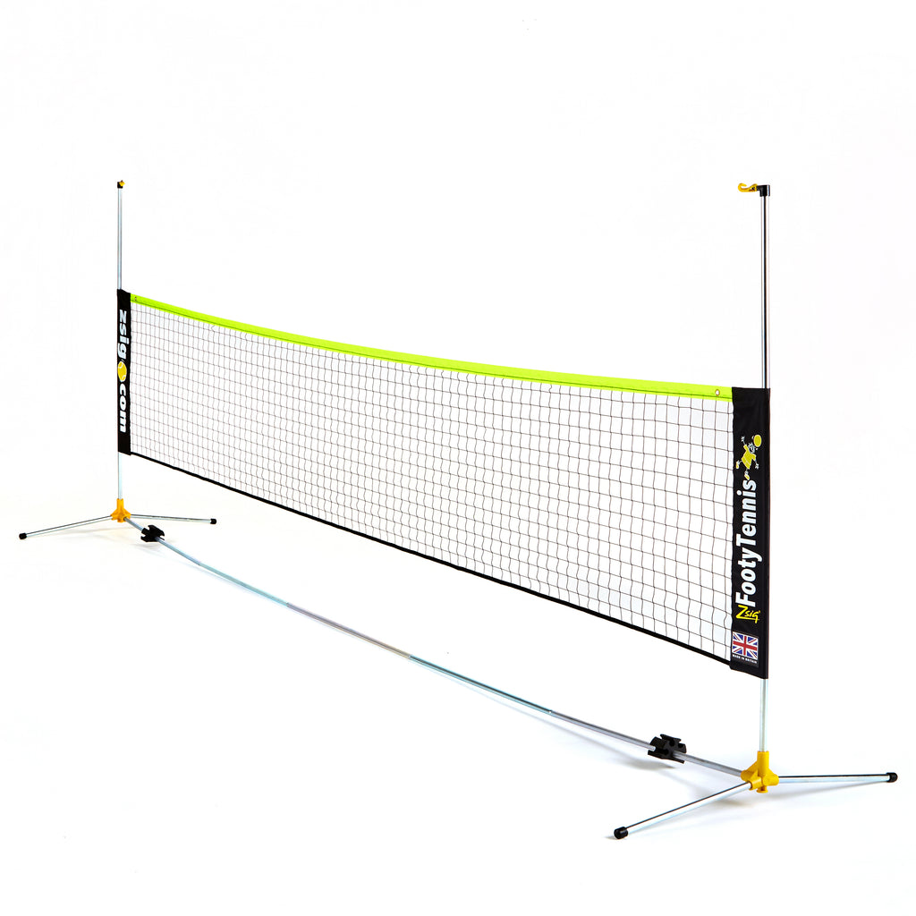 Footy Tennis | Variable Height Classic Zsignet 14 | 4.3m Net