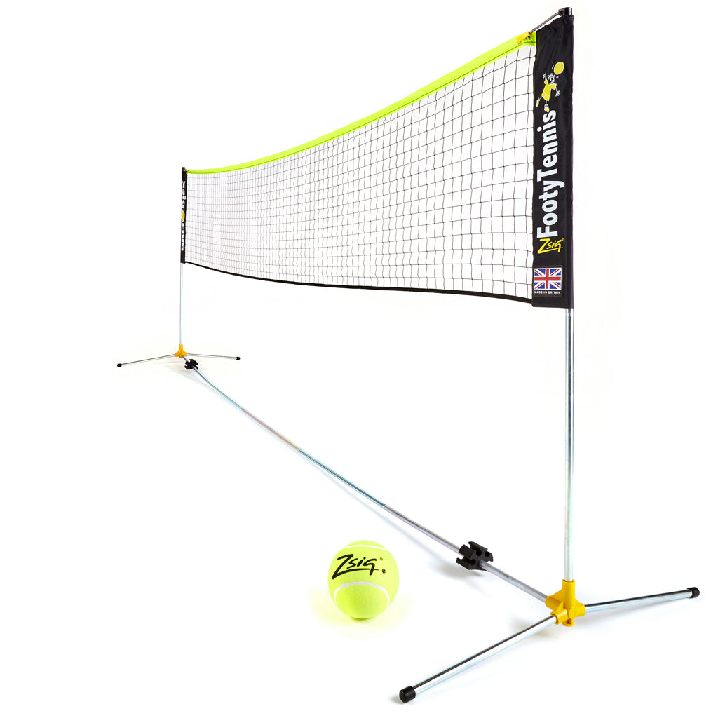 Footy Tennis Set | Variable Height Classic Zsignet 14 | 4.3m Set
