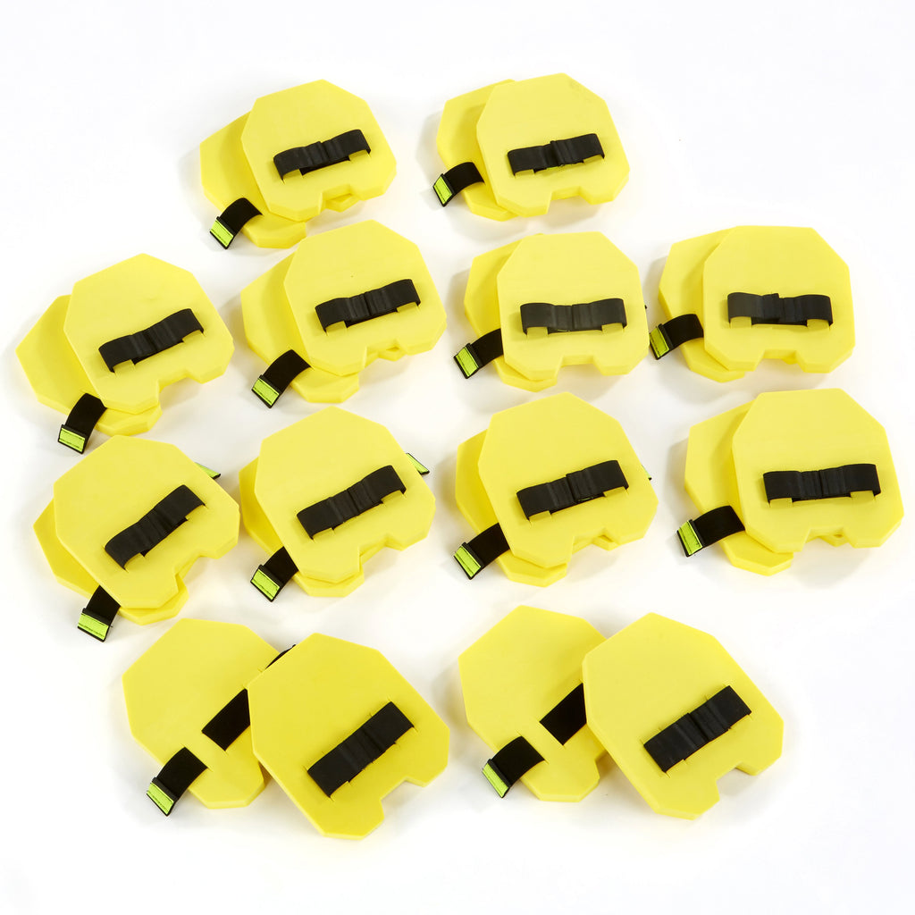 Hitting Hands early years coaching aids in yellow - 12 pair class set