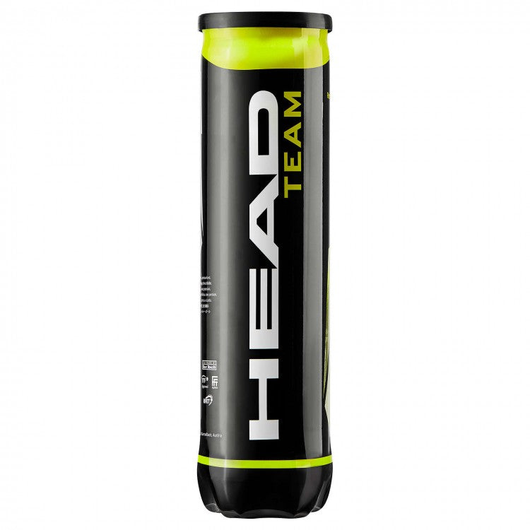 HEAD Team tennis ball tube of 4 balls