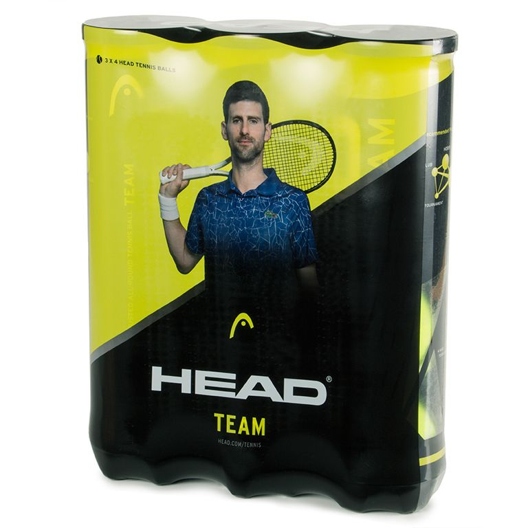 Tennis | Head Team Balls | 6 Dozen (72)