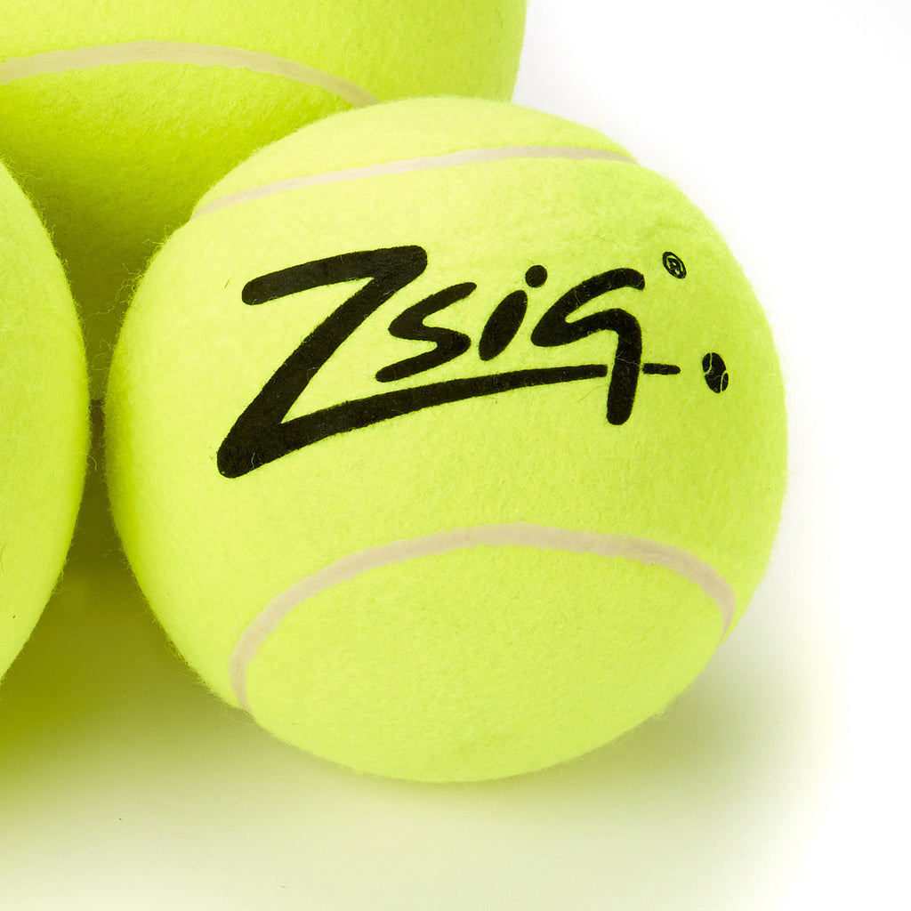 Jumbo over-sized tennis ball. Works well as a volleyball with a multisport net system.
