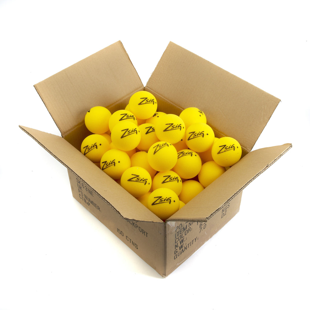 Matchplay8 Mini Tennis Balls in a bulk discount carton