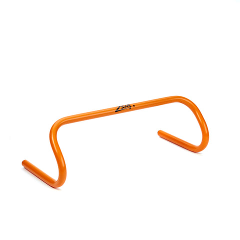 Mini hurdles in bright orange. 15cm height.
