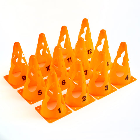 ZSIG Pop UP Cones - a numbered set of 12 cones