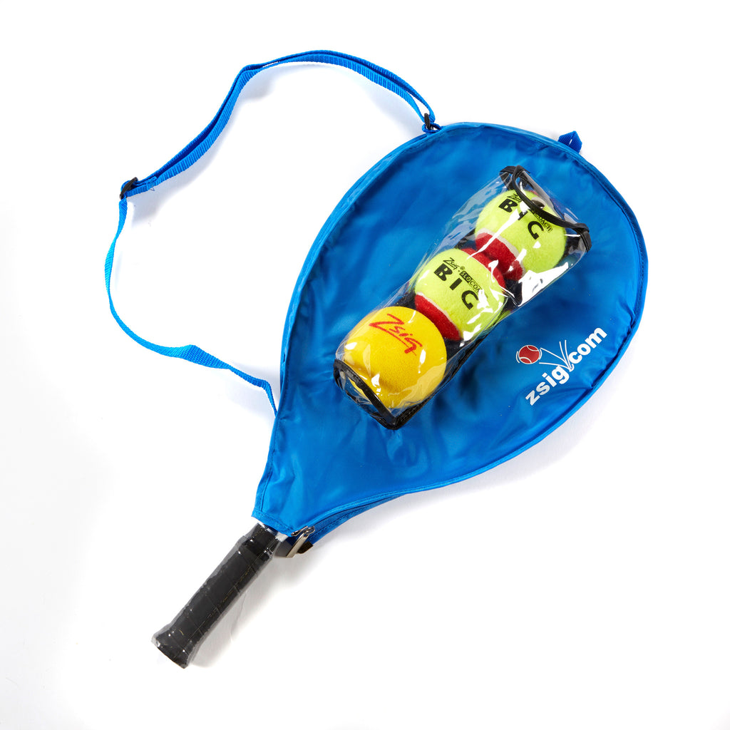 Mini Tennis | Racket Headcover 17-25in | Blue