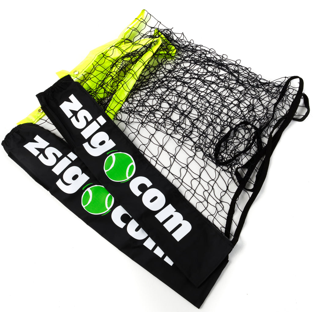 Zsig Classic 3m Mini Tennis Net folded