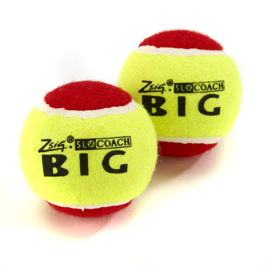 SLOcoach Big Red, a best-selling over-sized Mini Tennis Ball